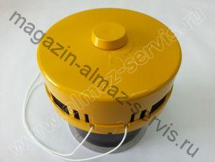 Цветной оголовок приточного клапана КПВ-125 №4 (аналог КИВ-125)