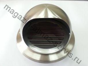 Вентиляционная цокольная решетка для КПВ-125 или КИВ-125 нержавеющая сталь